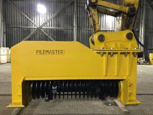 Мульчер на экскаватор Pilemaster DAH150E (аналог Denis Cimaf) для экскаватора 20-30 тонн